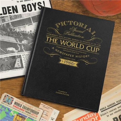 Personalised Football World Cup 1966 Book